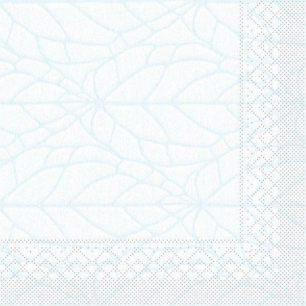 Tissue Serviette Kreta in Sky, 40 x 40 cm, 100 Stück - Mank