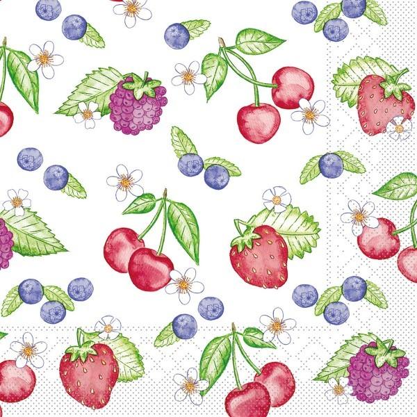 Tissue Serviette Renate, 33 x 33 cm, 100 Stück - Mank