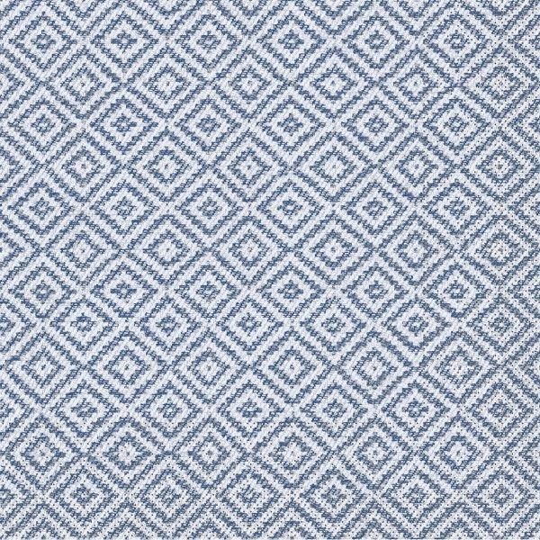 Tissue Serviette Lagos-Base in Blau, 40 x 40 cm, 100 Stück - Mank