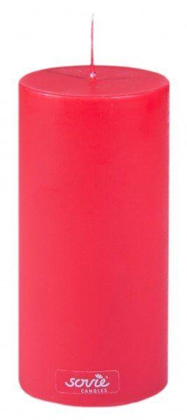 Stumpenkerze Rot, Ø70x150 mm