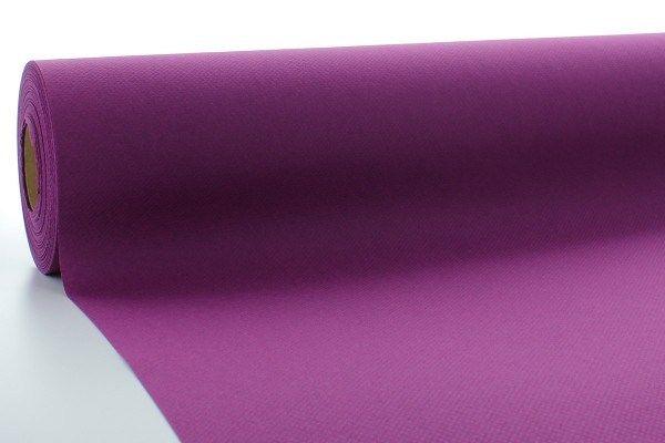 Airlaid Tischdeckenrolle Aubergine, 80 cm x 40 m , 1 Stück - Mank