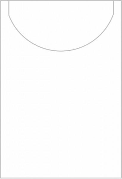 Linclass-Light Snack-Serviette in Weiß, 22 x 19 cm 1/8-Falz, 100 Stück - Mank