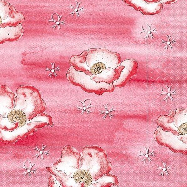 Tissue Serviette Moni, 33 x 33 cm, 100 Stück - Mank