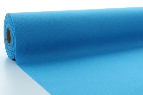 Airlaid Tischdeckenrolle Aquablau, 120 cm x 40 m , 1 Stück - Mank