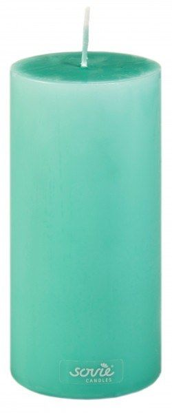 Stumpenkerze Jadegrün, Ø70x150 mm