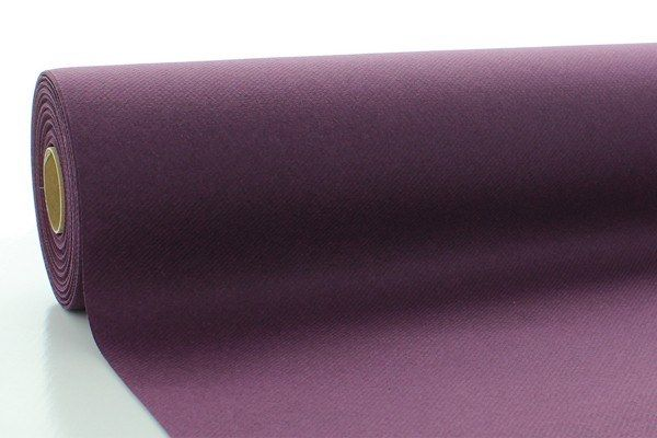 Airlaid Tischdeckenrolle Pflaume, 120 cm x 25 m , 1 Stück - Mank