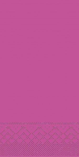 Tissue Serviette Violett, 33 x 33 cm, 100 Stück - Mank