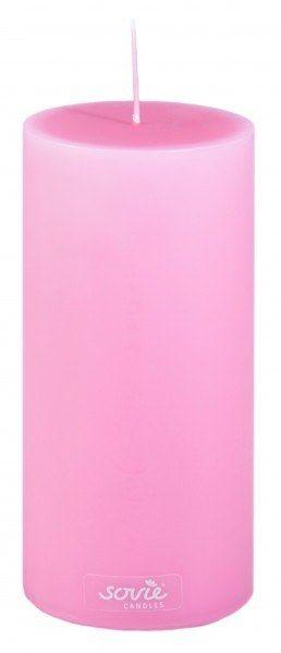 Stumpenkerze Violett, Ø70x150 mm