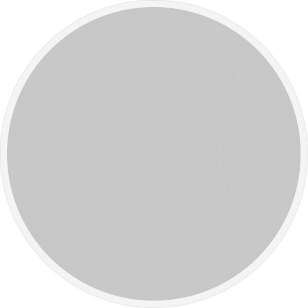 Tissue Deckchen UNI in Silber, Ø 90mm, 250 Stück - Mank