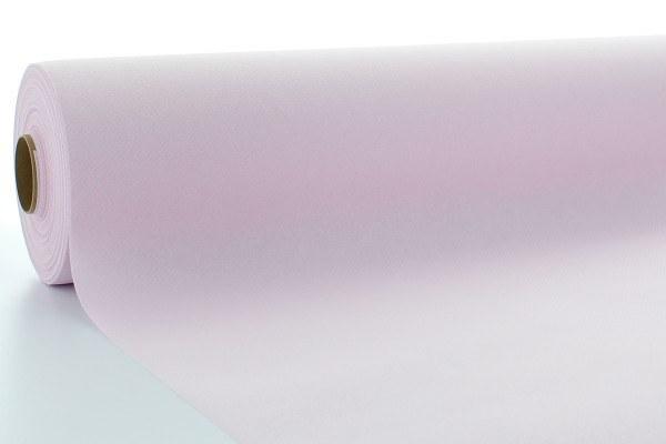 Airlaid Tischdeckenrolle Hellrosa, 120 cm x 25 m , 1 Stück - Mank