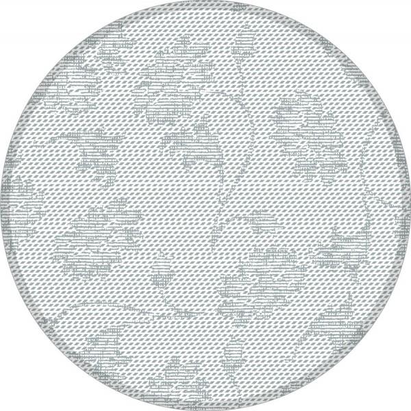 Deckchen Lisboa in Grau, Tissue 9-lagig, 90 mm, 250 Stück - Mank