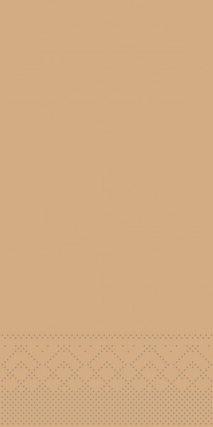 Tissue Serviette Sand, 40 x 40 cm, 1/8 Falz, 100 Stück - Mank