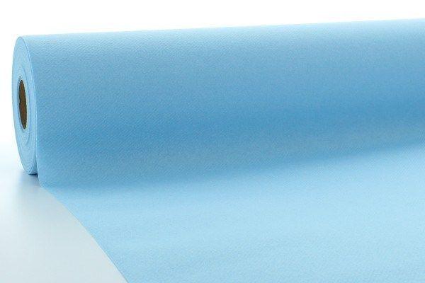 Airlaid Tischdeckenrolle Hellblau, 80 cm x 40 m , 1 Stück - Mank