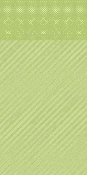 Tissue Deluxe Besteckservietten Kiwi, 40 x 40 cm, 75 Stück - Mank
