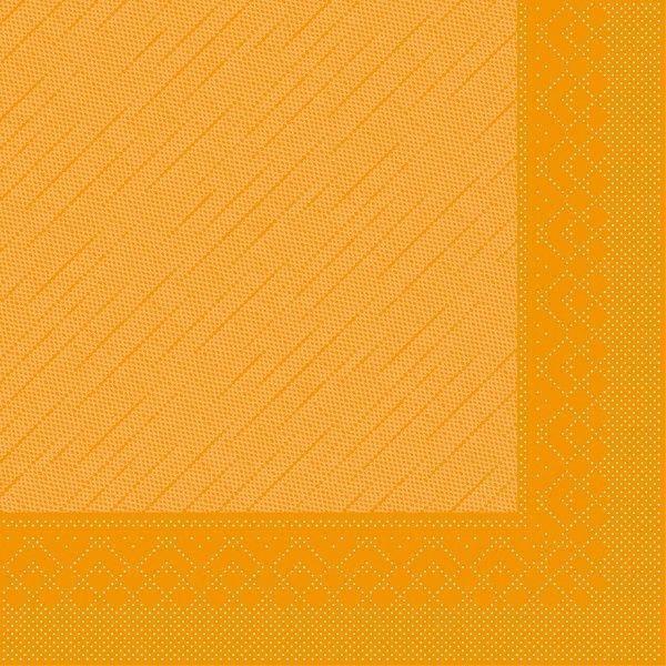 Tissue Deluxe Serviette Curry, 40 x 40 cm, 50 Stück - Mank