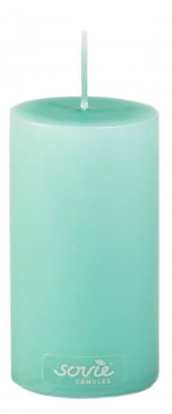 Stumpenkerze Jadegrün, Ø50x100 mm