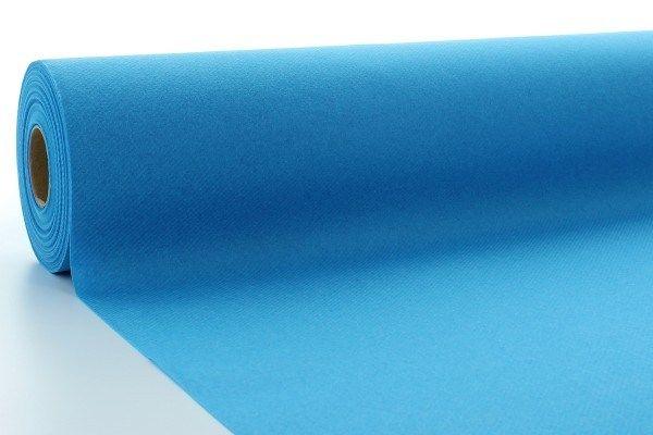 Airlaid Tischdeckenrolle Aquablau, 80 cm x 40 m , 1 Stück - Mank