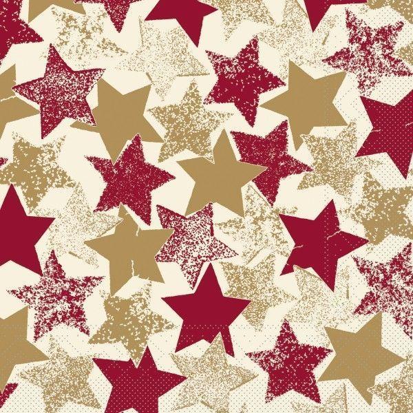 Tissue Serviette Levi, 33 x 33 cm, 100 Stück - Mank