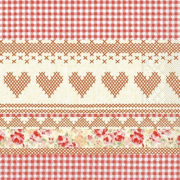 Tissue Serviette Mathilda, 40x40 cm, 100 Stück - Mank