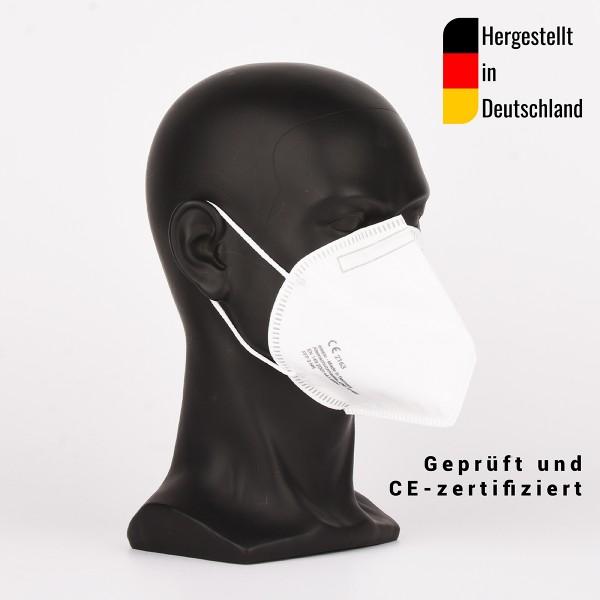 10 Stück FFP3 Halbmasken, CE zertifiziert - hergestellt in Deutschland - Atemschutzmaske