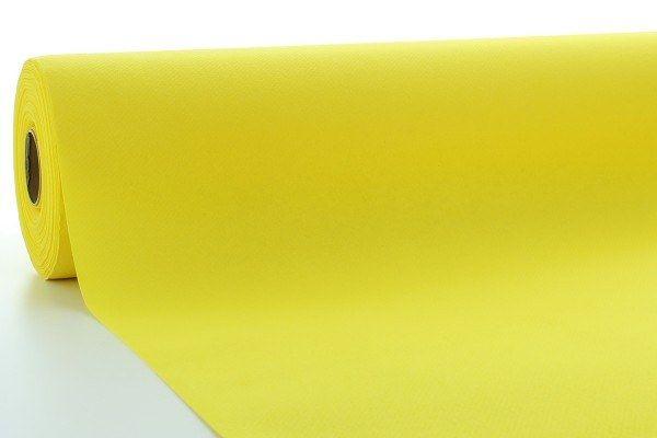 Airlaid Tischdeckenrolle Gelb, 80 cm x 40 m , 1 Stück - Mank