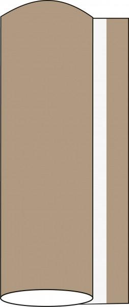 Airlaid Tischdeckenrolle Beige Grey, 80 cm x 40 m , 1 Stück - Mank