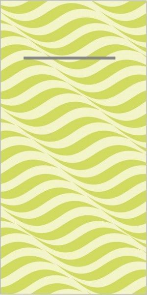 Airlaid Besteckservietten Nizza in Lime, 40 x 40 cm, 100 Stück - Mank