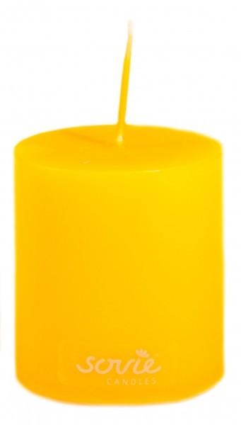 Stumpenkerze Senfgelb, Ø50x60 mm