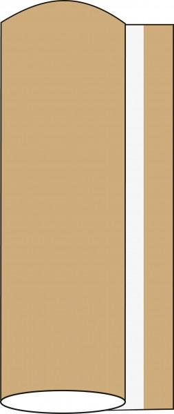 Airlaid Tischdeckenrolle Naturbraun, 80 cm x 40 m , 1 Stück - Mank