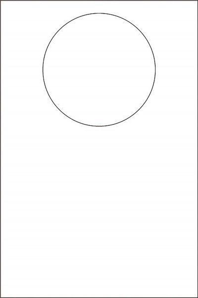 Jumbolätzchen weiß, 42 x 60 cm, 100 Stück - Mank