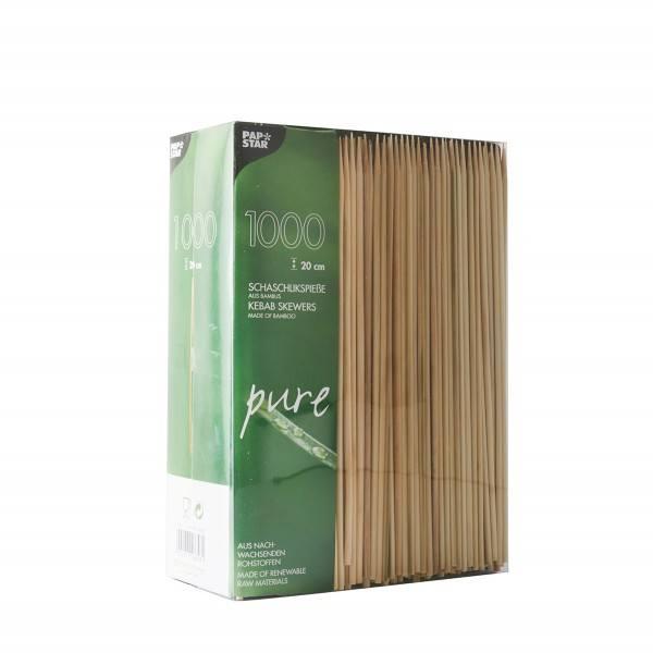 Schaschlikspieße, Bambus Ø 3 mm x 20 cm - Papstar