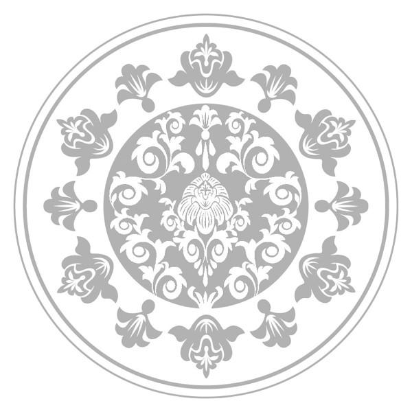 Paper Caps Pascal in Silber aus Mattkarton, Ø74mm, 200 Stück - Mank