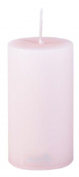 Stumpenkerze Rosa, Ø50x100 mm