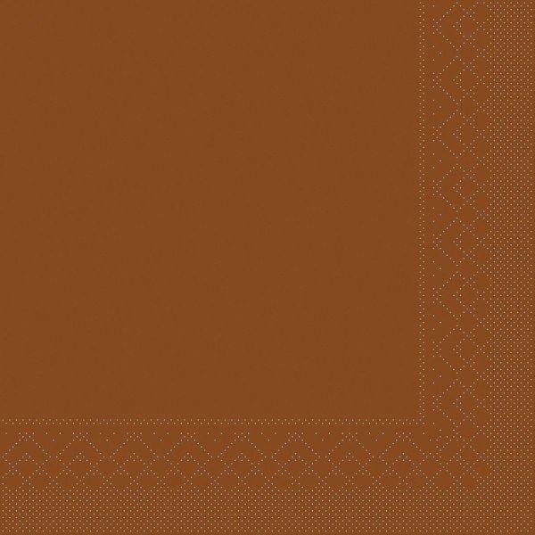 Tissue Serviette Bronze, 33 x 33 cm, 100 Stück - Mank