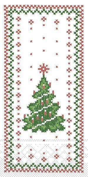 Tissue Serviette Gina, 40 x 40 cm, 1/8 Falz, 100 Stück - Mank