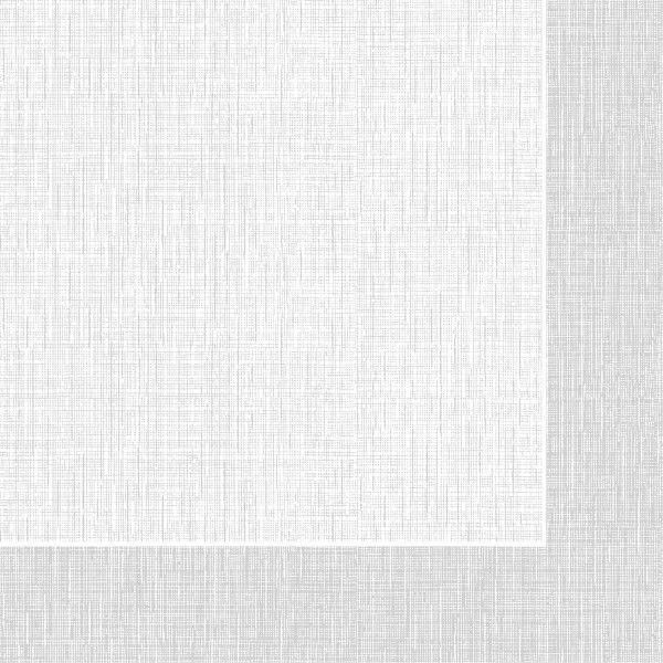 Spanlin Serviette Hans in Grau, 40 x 40 cm, 30 Stück - Mank