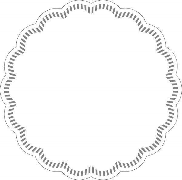 Tissue Deckchen in Weiss, Ø 90 mm, 250 Stück - Mank