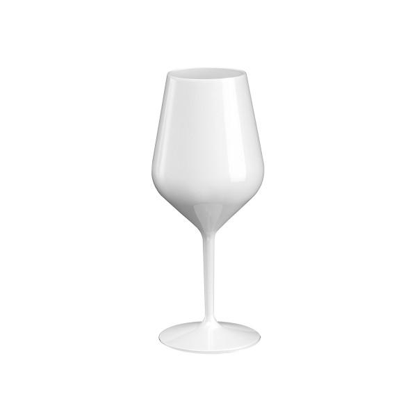 Mehrweg-Weinglas Weiss 470ml aus TT, 1 Stück - Mank