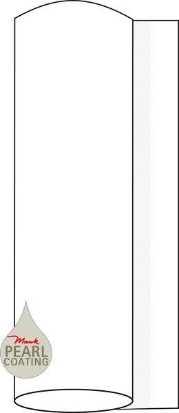 Airlaid Tischdeckenrolle Weiß mit Pearl Coating, 120 cm x 25 m , 1 Stück - Mank