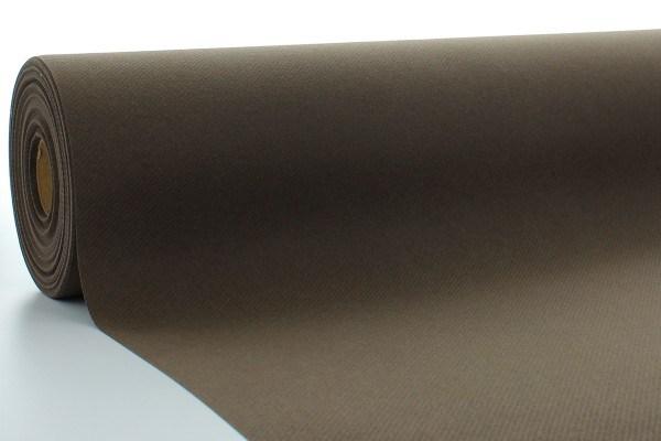 Airlaid Tischdeckenrolle Braun, 120 cm x 40 m , 1 Stück - Mank