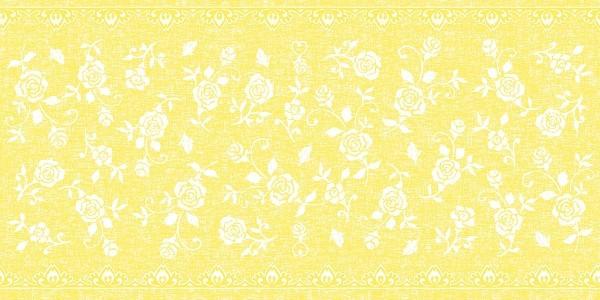 Airlaid Tischläufer Lace in Gelb, 40 cm x 24 m , 1 Stück - Mank