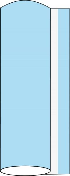 Airlaid Tischdeckenrolle Sky, 120 cm x 40 m, 1 Stück - Mank