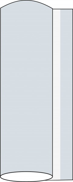 Airlaid Tischdeckenrolle Perlgrau, 120 cm x 25 m , 1 Stück - Mank