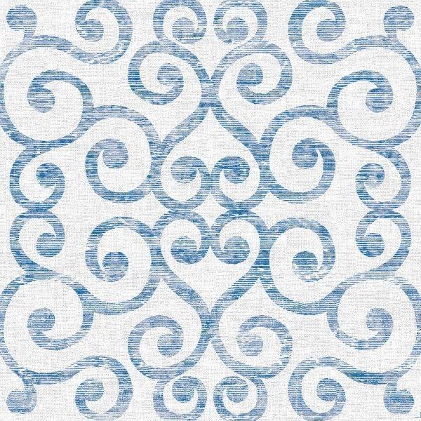 Spanlin Serviette Nova in Blau-Grau, 40 x 40 cm, 30 Stück - Mank