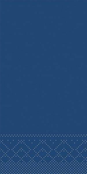 Tissue Serviette Blau, 33 x 33 cm, 100 Stück - Mank