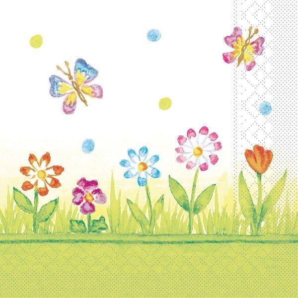 Tissue Serviette Insa, 33 x 33 cm, 100 Stück - Mank
