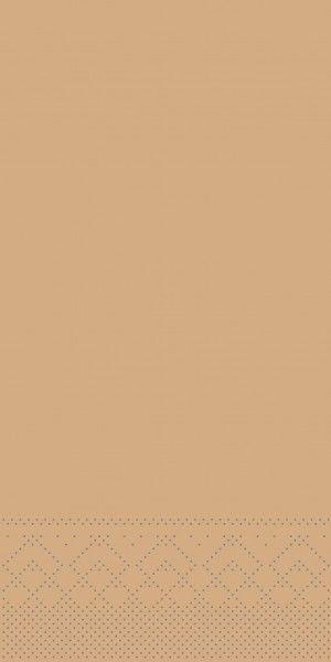 Tissue Serviette Sand, 33 x 33 cm, 100 Stück - Mank