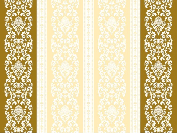 Airlaid Tischset Pascal in Gold-Creme, 40 x 30cm, 100 Stück - Mank