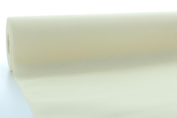 Airlaid Tischdeckenrolle Creme, 120 cm x 40 m , 1 Stück - Mank