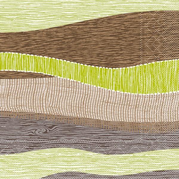 Tissue Serviette Ramon, 40x40 cm, 100 Stück - Mank